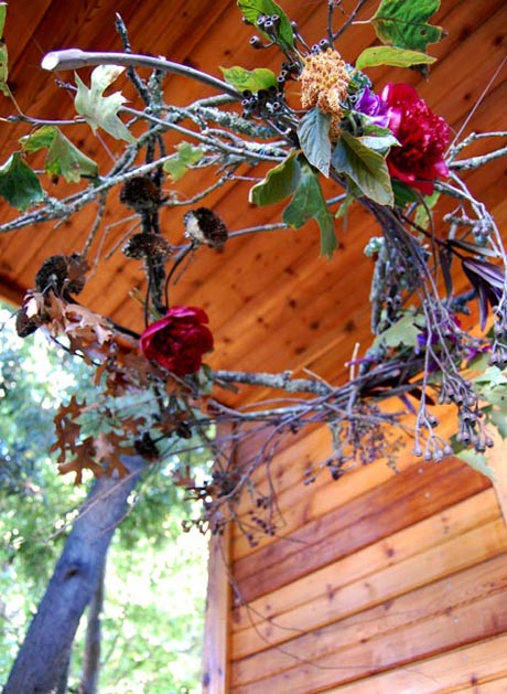 Rustic wreath from Studio Choo