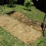 DIY terrace garden bed step 3