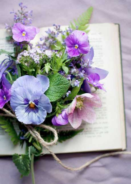 pansy-bouquet