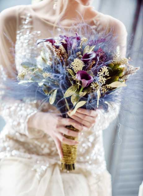 gold-and-magenta-bouquet1