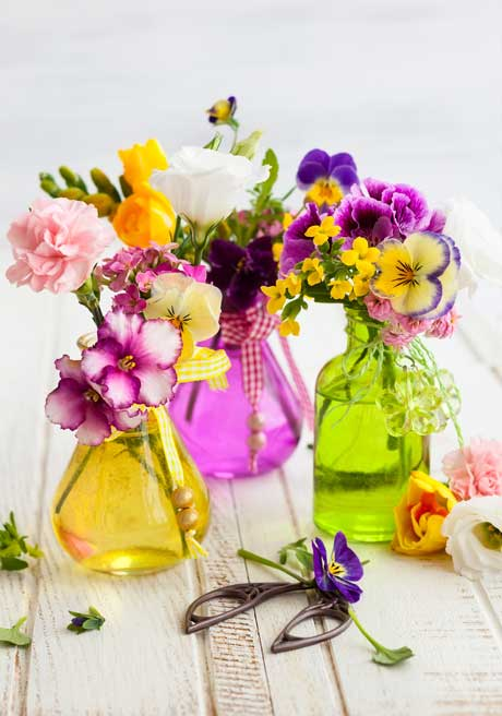 pansy-posies-in-jars